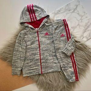 Adidas Girls Athletic Track Suit Set